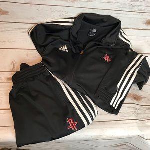 Adidas/Houston Rockets 2pc Warmup Suit